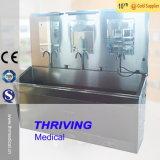 Thr-Jms26 en acier inoxydable de l'hôpital de commande au pied du dissipateur de scrub