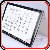 La impresión de calendarios personalizados de tres meses colgador de pared