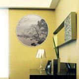 L'illustration décorative d'horizontal de Morden a estampé sur la toile de peinture à l'huile
