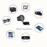 4.2A 전압계 12-24V 파란 LED 디지털 표시 장치 유니버설을%s 가진 듀얼포트 USB 충전기