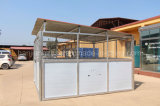 Estábulos galvanizados portáteis do cavalo com telhado de aço (XMR18)