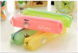 Bolso del lápiz de la serie del gato de Toto del color de la historieta de Japón del color del caramelo/bolsa del lápiz/Estuche Lapices/papel coreano Wj0007