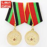 Bonne qualité nous médaille commémorative des militaires 3D