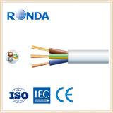 sqmm flexível de cobre do núcleo 1.5 do cabo elétrico 4