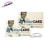 Diseño personalizado de plástico Tarjetas de presentación de la tarjeta de PVC 85,5*54mm.