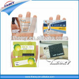Cartão transparente plástico do cartão CI do PVC do fabricante de China