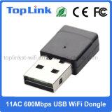 dongle à grande vitesse de WiFi du jeu de puces USB de 11AC 600Mbps Realtek Rtl8811au