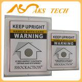 La escritura de la etiqueta del indicador de la inclinación protege la porcelana antigua contra el choque