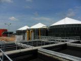Biogasのダイジェスター3*2100m3 CstrのBiogasのプラント
