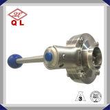 Санитарные и гигиенические/хорошего класса DIN сварной двухстворчатый клапан