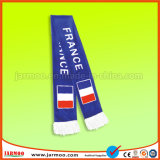Preiswerter kundenspezifischer Drucken-Polyester-Fußball-Schal