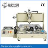 4軸線の木製のルーター6090 CNCの経路指定機械