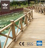 Outdoor Wood Plastic Composite WPC Fencing Railing