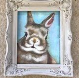 Оптовая торговля декоративными заяц холст живопись для интерьера