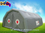 هواء ضيّقا قابل للنفخ تمويه طارئ مستشفى خيمة لأنّ يخيّم