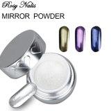 Pas de clou de la poudre chimique agressif miroir pour nail art