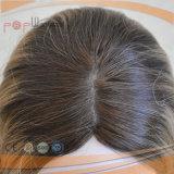Peluca judía superior de seda encantadora de Sheitel del pelo humano (PPG-l-0457)