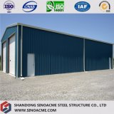 前に金属フレームの倉庫を設計するSinoacme