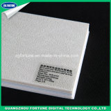 Papel de la pared de alta calidad Eco solvente papel tapiz con las líneas de heno de textura en la Plata brilla