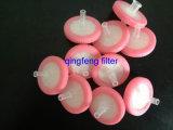 Filtre hydrophobe de seringue de PTFE 13mm pour le fournisseur de laboratoire