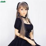 Le sexe adulte de jeune fille japonaise en gros joue la poupée d'amour de silicones