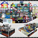 Structure de jeu de divertissement de parc d'attractions de matériel de cour de jeu d'enfants