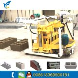 Mobile Hydraulic Qt40-3A Solid Brig Making Machine/Hydraulic Block Forming Machine