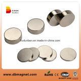 Forte magnete del disco del cilindro del neodimio della terra rara N35