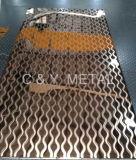 304 feuilles en acier inoxydable décoratifs, miroir laser avec Rose-Gold