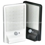 luz solar de la pared del sensor LED de 36LEDs IP65 4W PIR
