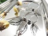 보석 제조자 굴렁쇠를 가진 움츠린 Handmade 은 형식 귀걸이