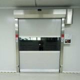 Porta de alta velocidade do obturador do rolo de porta do rolamento da tela industrial automática do PVC
