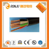 PE resistente al fuego de alambre de cobre aislado de los cables eléctricos