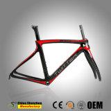 Pagina della bicicletta della strada della fibra del carbonio T1000 con la pressa Bb60