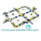 Коленная подушка безопасности на море в коммерческих операций с плавающей запятой Aqua Park игры гигантские взрослых надувной Водный парк