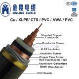 18/30kv Mv de Kabels van de Macht Drie Kabels van Kernen aan CEI 60502