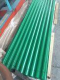 Metallo della Cina preverniciato coprire strato, strato ondulato del tetto del metallo per costruzione