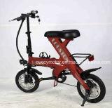 Pliable 250W/350W Batterie au Lithium Cyclomoteur électrique pliant Vélo de montagne avec les pédales (F5)