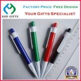 Crayons lecteurs en plastique blancs personnalisés de Poin de bille