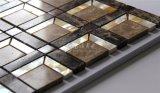 Material de construcción nacarado del mosaico del mármol de la mezcla del shell del nuevo diseño 2017 300*300m m