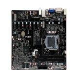 2017 НОВЫХ ПК компьютер Btc дна системной платы B85 в корпусе LGA 1150 процессоров Intel Core i7, I5, I3 / Pentium DDR3X2 8*1600 Мгц системной платы Pcie