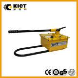 Bomba de mano hidráulica de acero manual durable de la marca de fábrica de Kiet