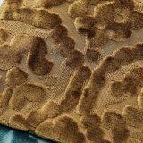 Ткань Jacuqard цвета золота связанная тканью для всего сбывания