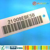 EPC Gen2 Alien96621 H3 UHF RFID de prendas de vestir ropa de etiqueta prendas de vestir