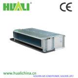 Élément caché horizontal de bobine de ventilateur de certificat de la CE avec le thermostat et le clapet bidirectionel
