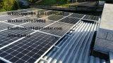 太陽エネルギー端末のためのセリウムCQC TUVの証明の高性能320Wのモノラル太陽電池パネル