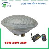 Lamp van RGB LEIDENE PAR56 Vlek van het Zwembad de Lichte