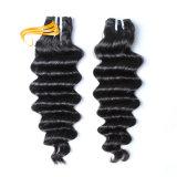 Haut de la qualité 8-30 pouces cheveux malaisien de la trame de haute qualité
