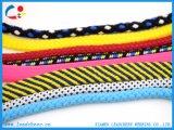 Изготовленный на заказ цветастый шнур шнура PP вспомогательного оборудования одежды