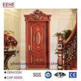 Disegno di legno del portello di comitato di buoni prezzi di legno dei portelli